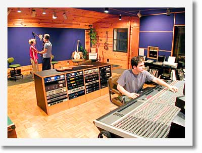 Back at the Ranch Recording Studio, specializing in Praise and Worship Music