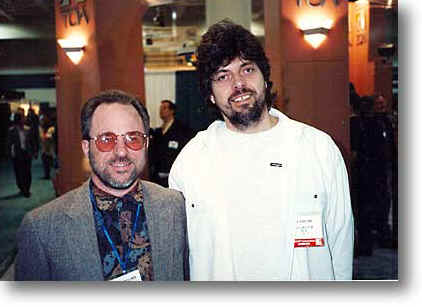 Brian with grammy winner Alan Parsons