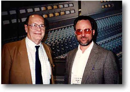 Rupert Neve visits with Brian in New York